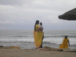 Minaccia pioggia in India